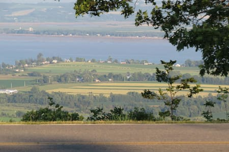 Spectacular views of the Annapolis valley
