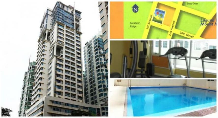 2 beds condo in bonifacio global city