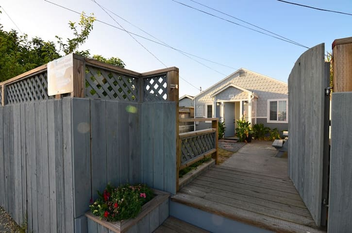 Shell Cottage on the Humboldt Bay - Eureka - Huis