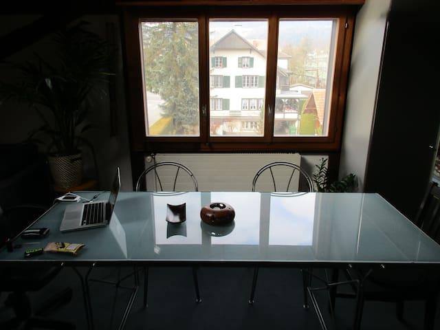 Die Wohnung für Skifahrer die Abwechslung suchen - Konolfingen - Flat