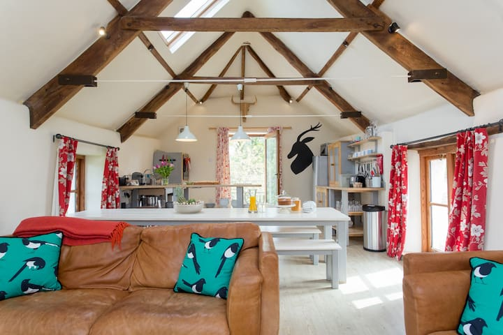 Beautiful Dartmoor Barn Conversion