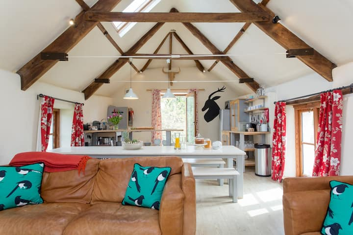Beautiful Dartmoor Barn Conversion