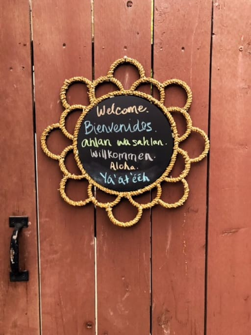 We are an equal opportunity and all inclusive hosts. We get the opportunity to meet people from all around the world and all walks of life, thanks for making that possible. We're excited to share our cottage with you!