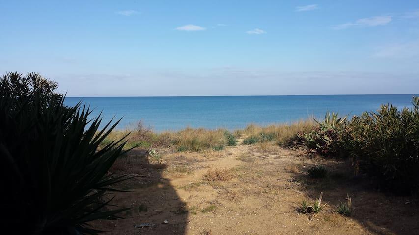 "Holiday House ""SOLE"" on the beach - Alcamo - Flat"