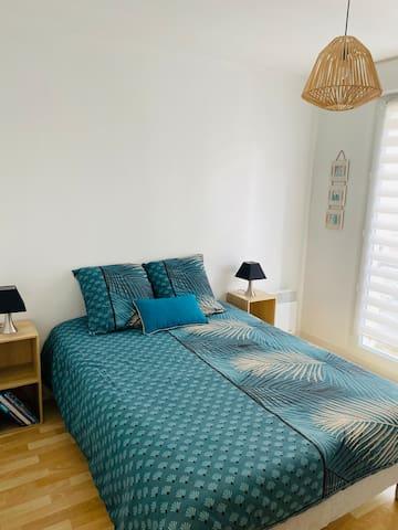 Chambre avec Lit double 140 x 190