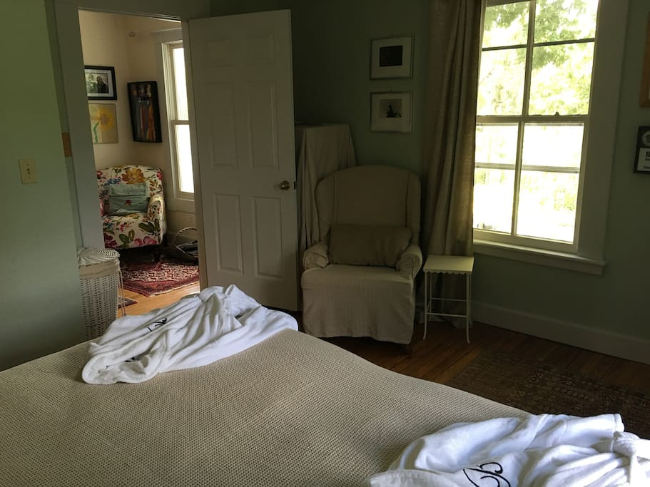 View to hall, robes provided (3 steps to hall bathroom secluded part of house)