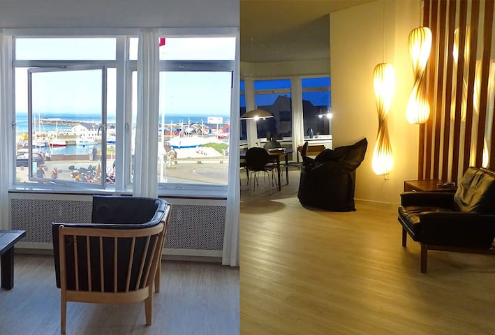 200 m2 ocean view apartment - Hirtshals - Квартира