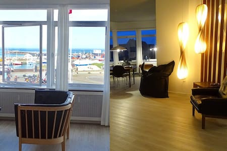200 m2 ocean view apartment - Hirtshals - Apartment