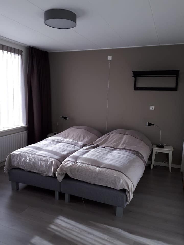 Gastenkamer in Westkapelle, B&B de Noorman.