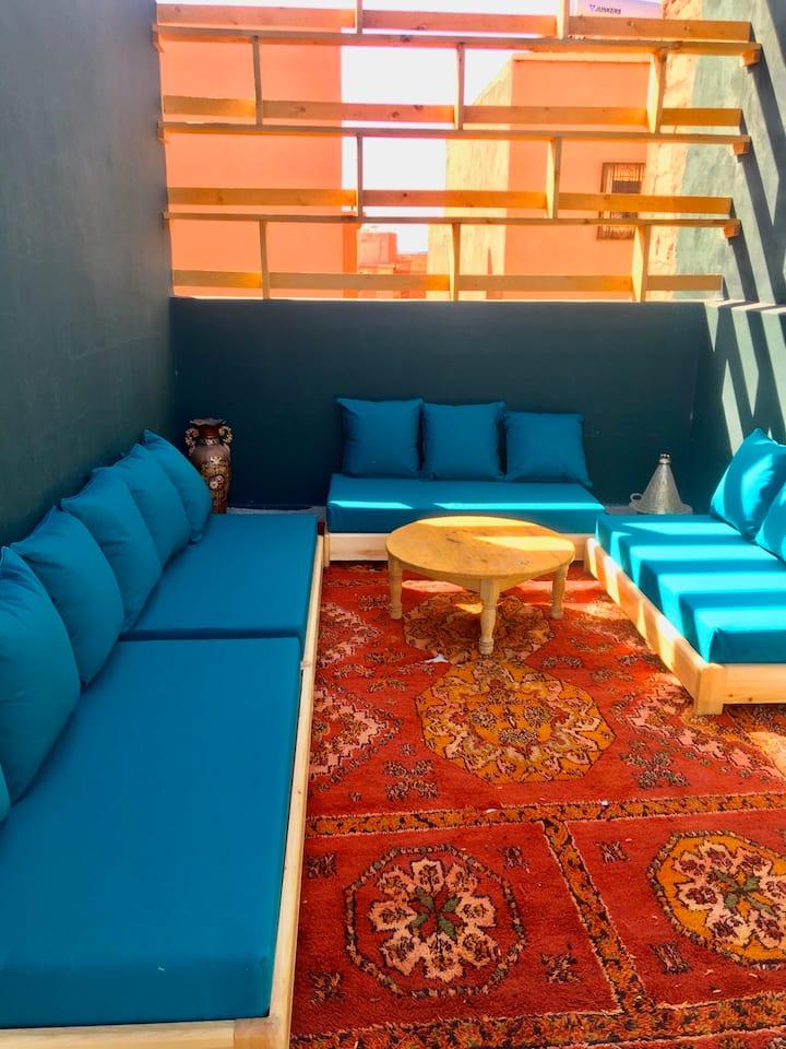 Villa avec piscine à 5min de l'aéroport Ouarzazate