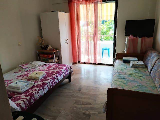 Your cozy apartment in Tolo! Close to Nafplio!!