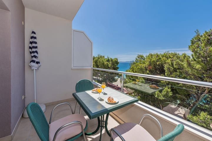 One Bedroom Apartment with Sea View 7V