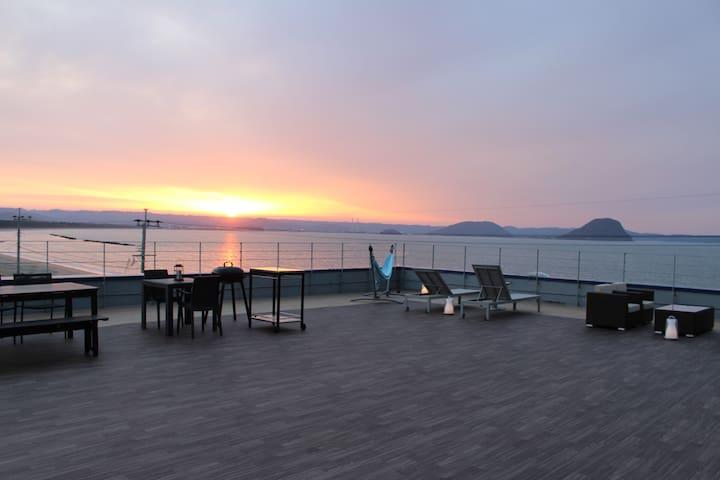 満天の星空に囲まれた最高の景色の唐津・佐賀リゾートホテルOcean - Karatsu-shi - Ryokan (Japonia)