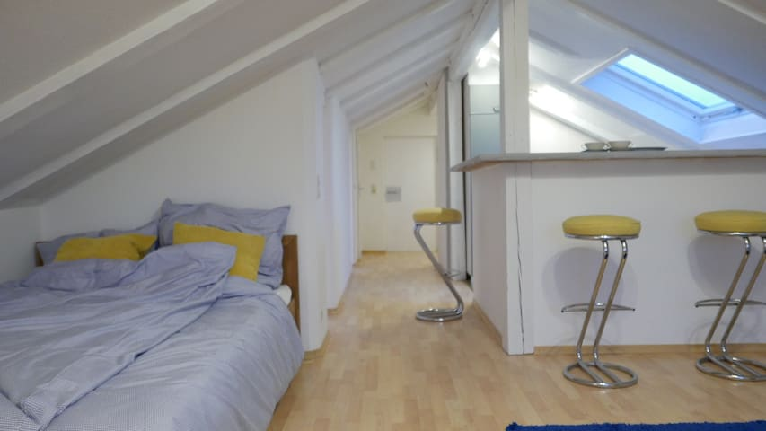 COSY ATTIC APARTMENT IN HOLZKIRCHEN CENTER