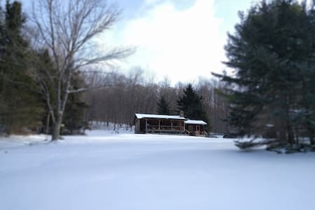Cozy Catskills Cabin for Winter - Andes - Talo