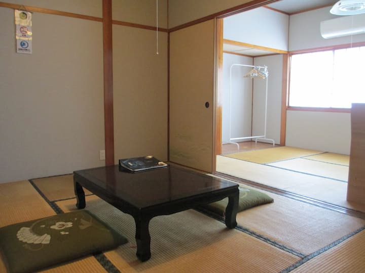 【ゆうひ66】白山に暮す 鶴来 2~3人利用可個室#cototto #金沢駅 #加賀白山バス