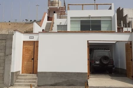 New house just in front of PUNTA ROCAS beach