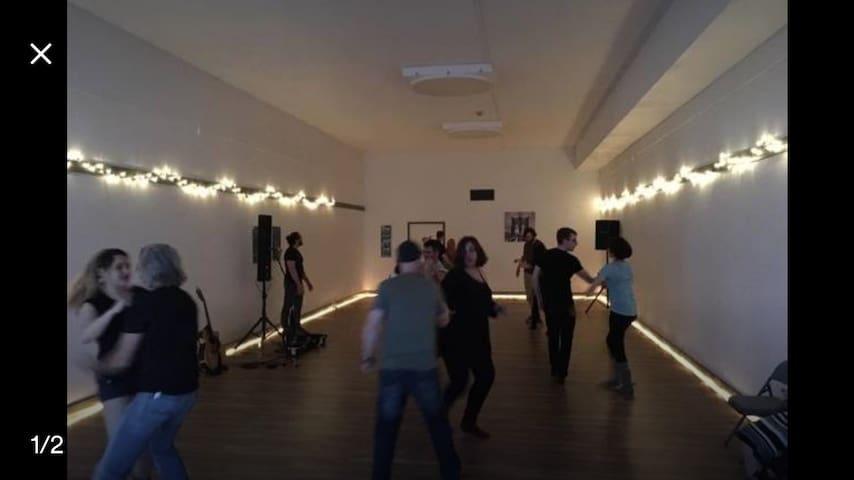 Dance Studio = Eclipse Hostel