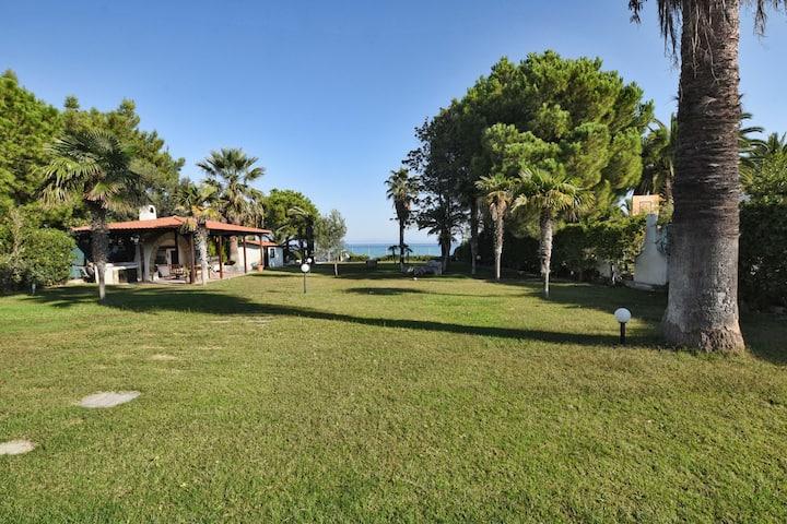 Hanioti Beachfront Villa