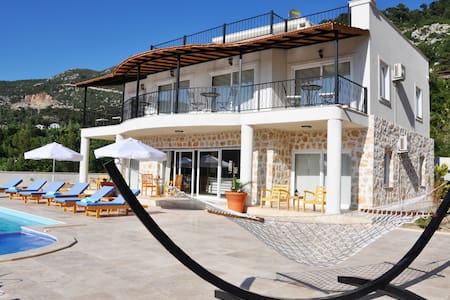 Mountainside Retreat Villa