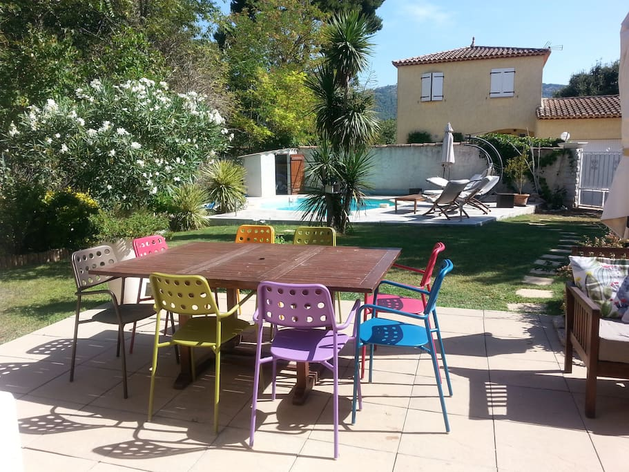 maison jardin et piscine aubagne houses for rent in aubagne provence alpes c te d 39 azur france. Black Bedroom Furniture Sets. Home Design Ideas