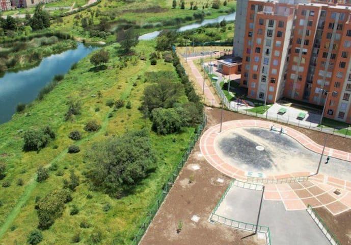 Mirador ecológico en el corazón de la urbe.