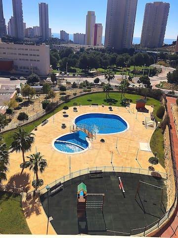 Exclusivo apartamento en playa Poniente - Benidorm - Apartamento
