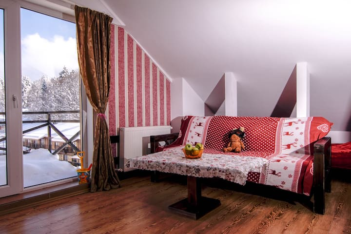 1 Bedroom ski flat in Mgzavrebi planned community