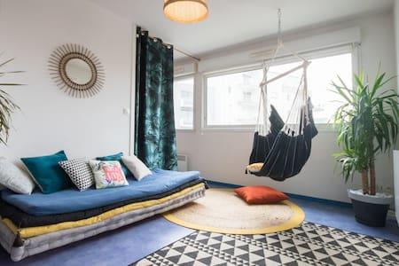 Appart' ZEN ~ T1 BIS + Terrace 8m² + Parking Space