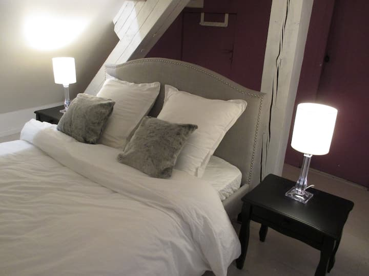 Grande et belle chambre, sdb privée