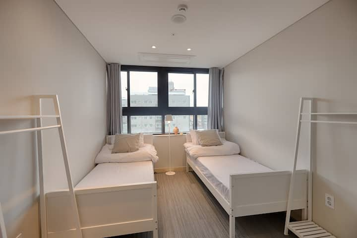 ♥Han river-view Rooftop♥ Twin Room