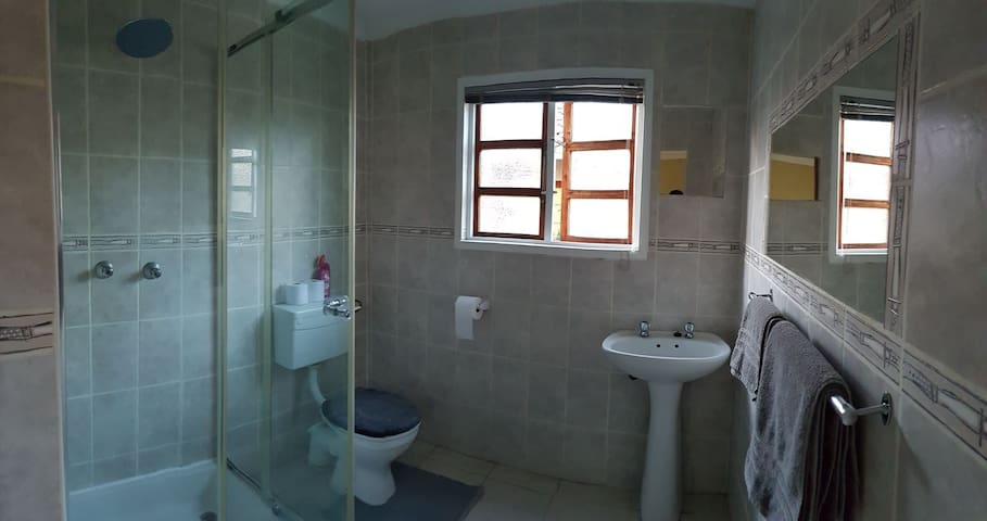 Bathroom, with shower