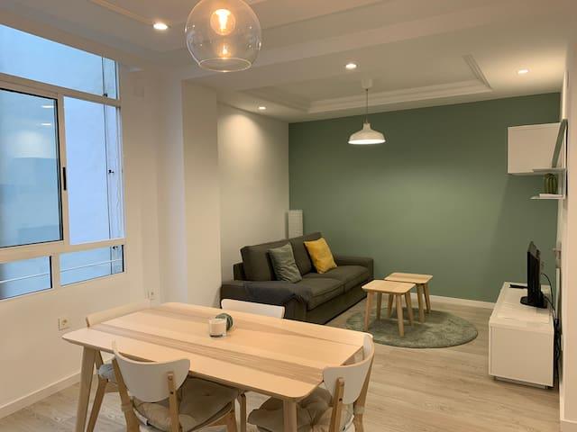 Apartamento minimalista en el centro de Yecla