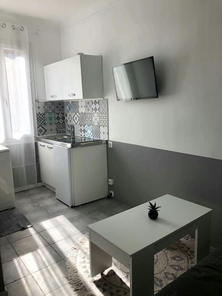Appartement à Nice en face de la mer