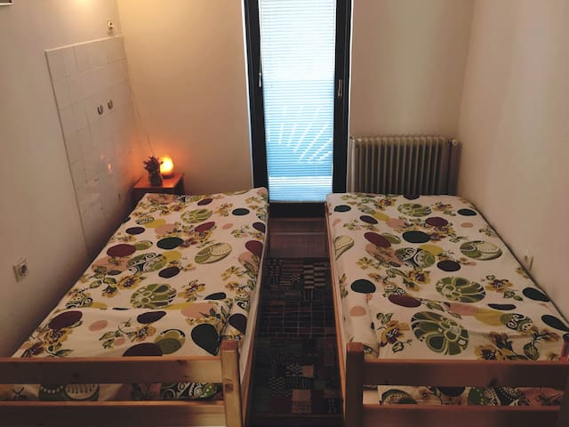 Eco adventure farm, double room with balcony .
