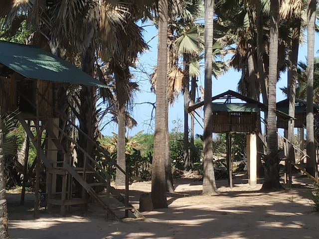 Treehouse>Atlanticview>Beach 10m.ParadiseBeach