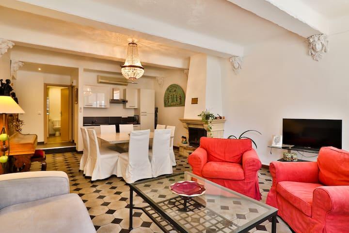 Magnifique appart du RDC dans hotel particulier