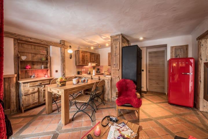 Appartement haut de gamme avec grand espace de vie - Mâcot-la-Plagne - Lejlighed