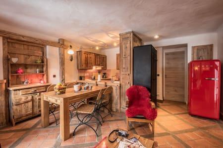Appartement haut de gamme avec grand espace de vie - Mâcot-la-Plagne - Wohnung