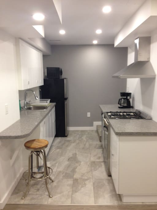 Completely new kitchen