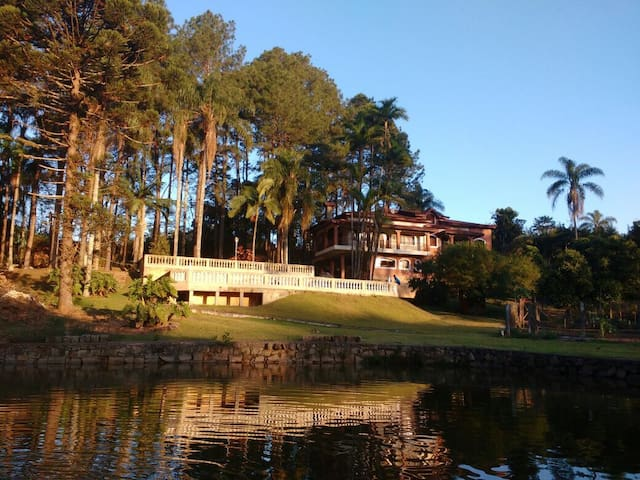 Casa de campo para toda família - Itatiba