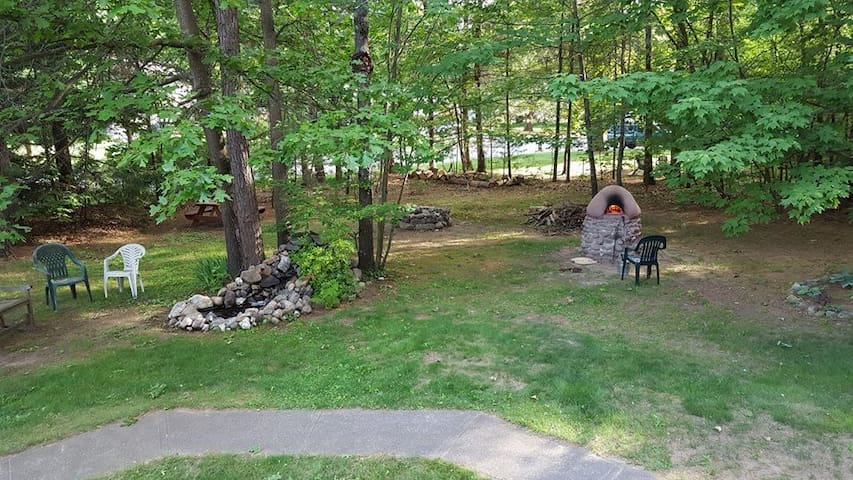 Beautiful backyard camping getaway near Saratoga!