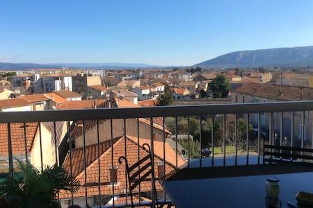 Appartement avec vue sur le Luberon - Cavaillon
