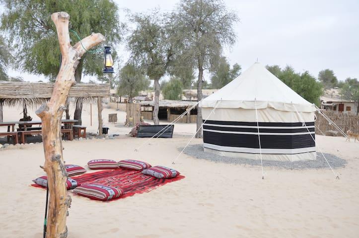 Bedouins Tent   AlReem Desert Camp - Jalan Bani Buhassan - Appartement