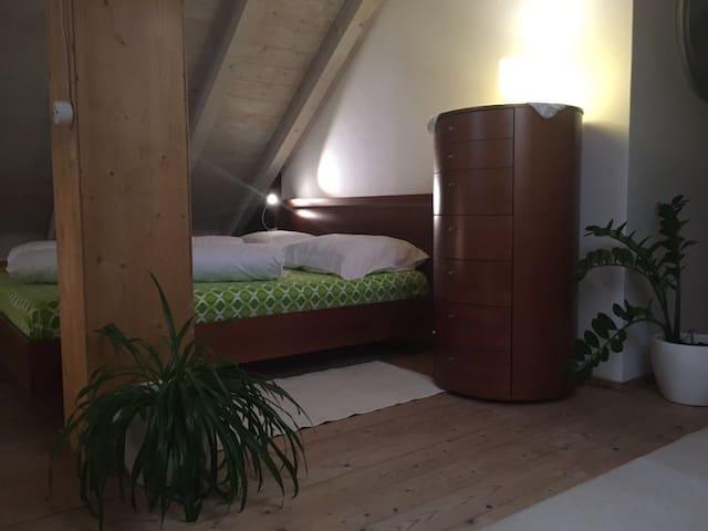 Gemütliche Mansardenwohnung mit Kachelofen, EPPAN - Venedig - Lägenhet