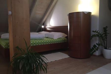 Gemütliche Mansardenwohnung mit Kachelofen - 威尼斯 - 公寓