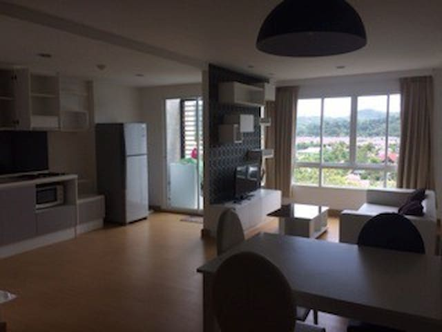 New, modern, clean 2 bedroom Condo in Kathu