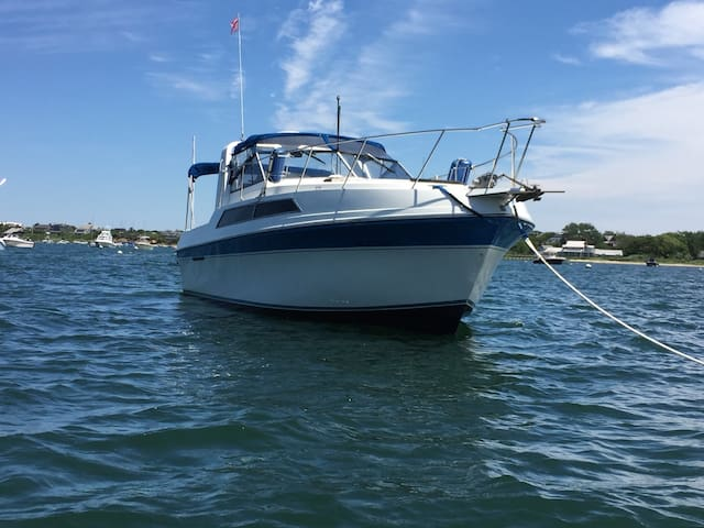 Spacious 32ft Motor Yacht with kitchen & bath - Nantucket - Barco