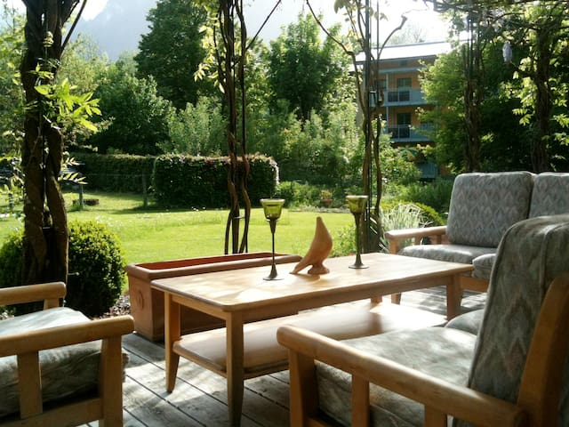 Attractive Holiday Apartment Sonnenröschen with Wi-Fi, Terrace & Mountain View; Parking Available, Pets Allowed