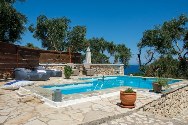 New!PaxosBlue Nostos Studio with private pool